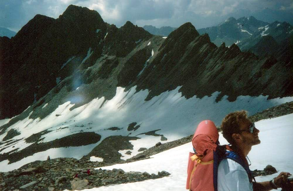 Aiguille de Saulié & Aiguillon 1996