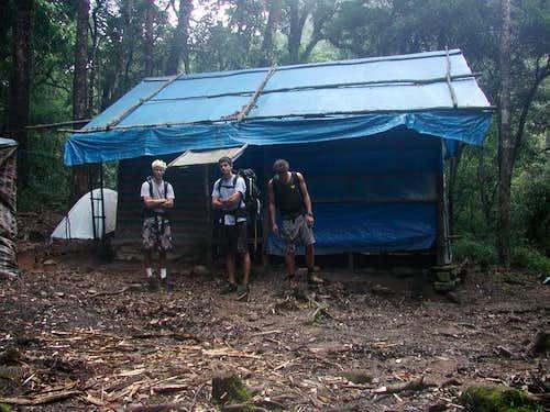 The Hut at the main camp