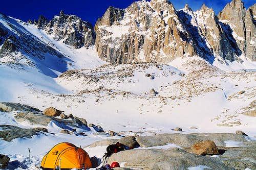 Trail Camp, my second camp