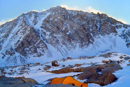 Mt Whitney, High Camp