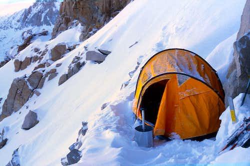 The Ridge, my fourth camp