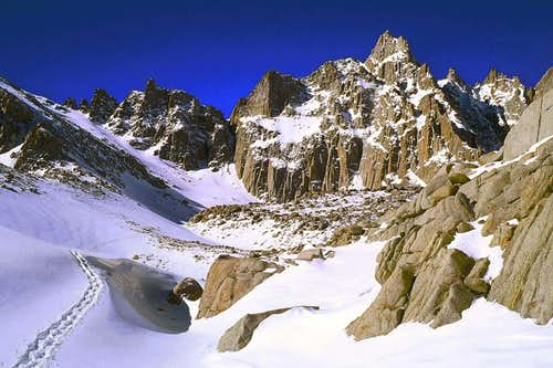 Mt Whitney Winter Attempts by clmbr