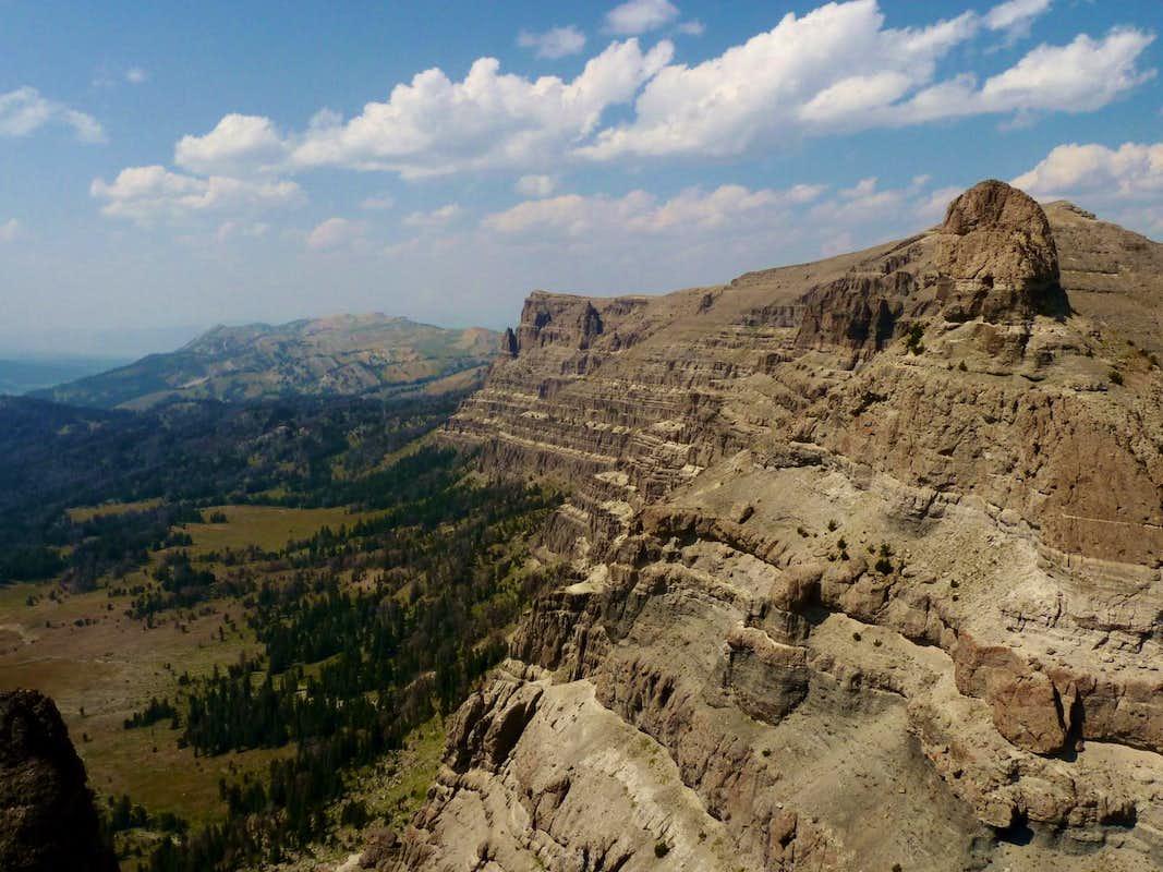 N Breccia Cliffs