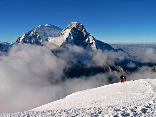 Huascaran from Summit of Pisco