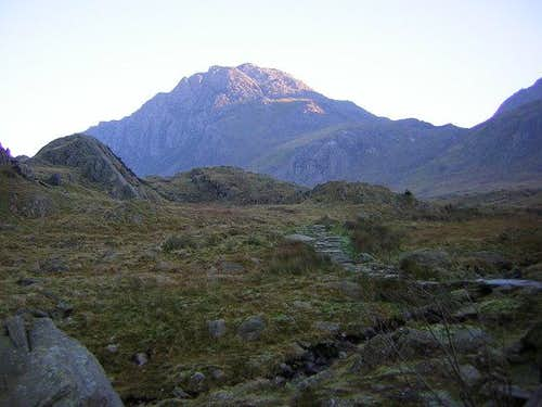Tryfan from the NW side,...