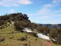 Black Mtn in severe winter...