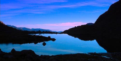 Lower Lake of Ischiator, Ischiator Valloon