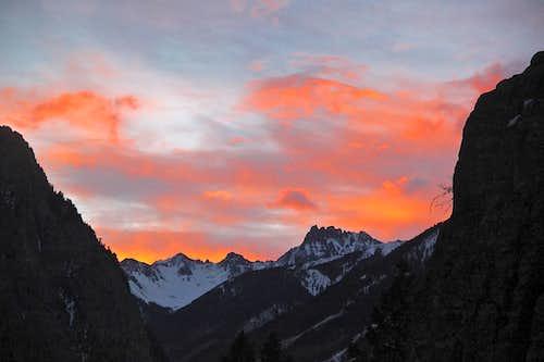 Sunrise from Ames Ice Hose