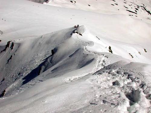 Ormelune: NW ridge.