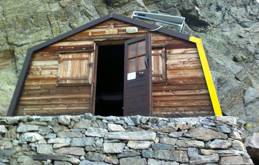 The new Bivouac Soardi-Fassero in upper Sea valloon
