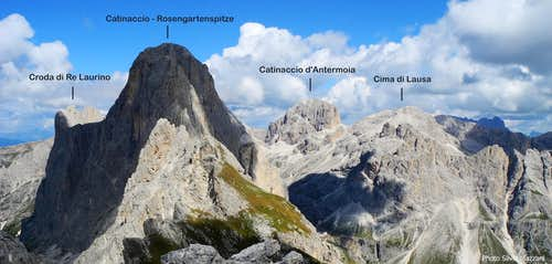 Punta Kafmann summit view labelled