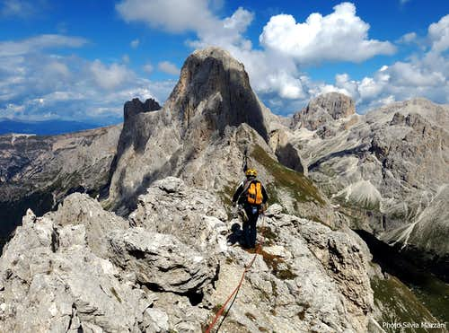 Punta Kafmann summit view
