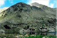 MacLeod Peak seen from MacLeod Lake