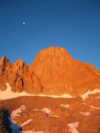 morning light on east face