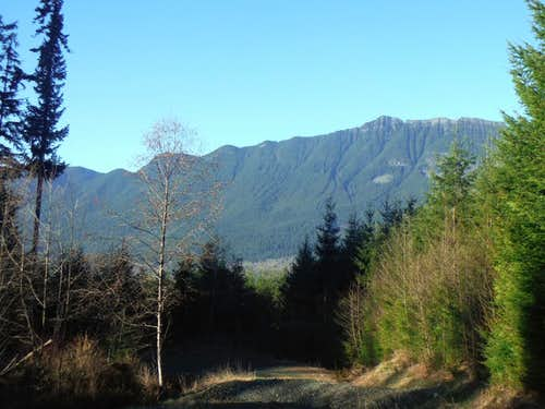 Mount Higgins from the road