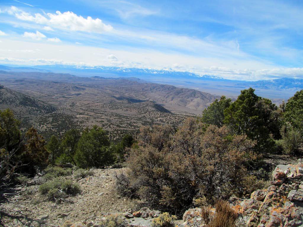 Wheeler Peak from Conger