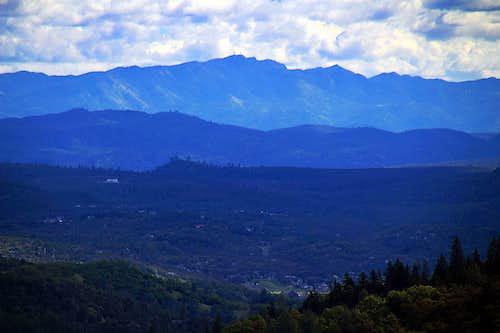 Berryessa Peak from the northwest