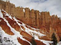 Bryce Canyon in winter -9