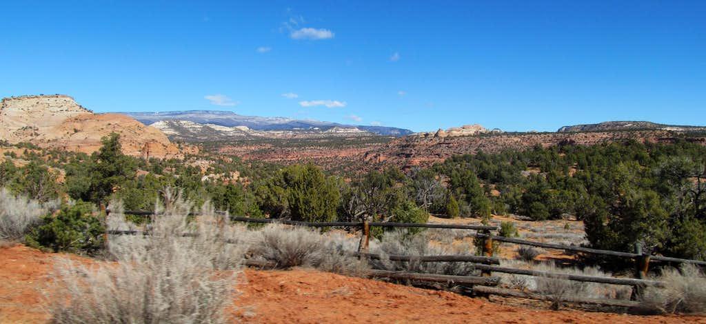 driving Utah's Burr Trail