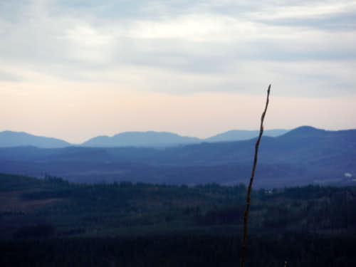 Looking south to Squak Mountain