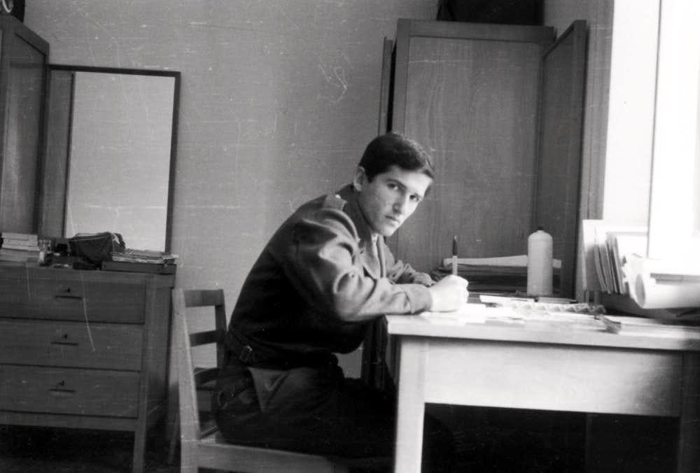 Military Journey  Lieutenant Ilario Antonio Garzotto 1968