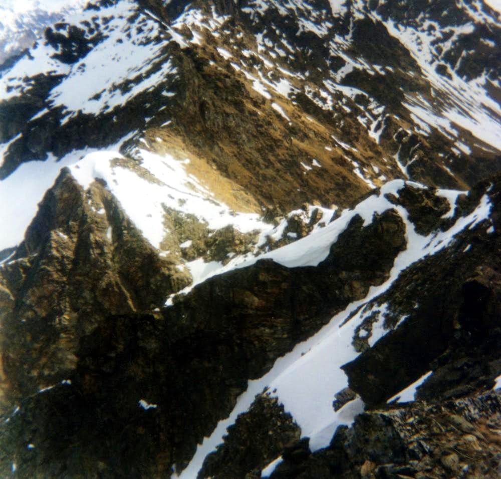 Punta di Senevé Upper Cénevé Basin by M.Mary 1996