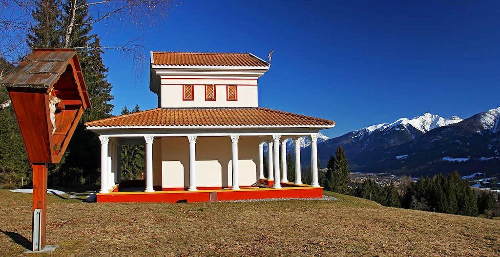 Gurina, the temple of Herakles