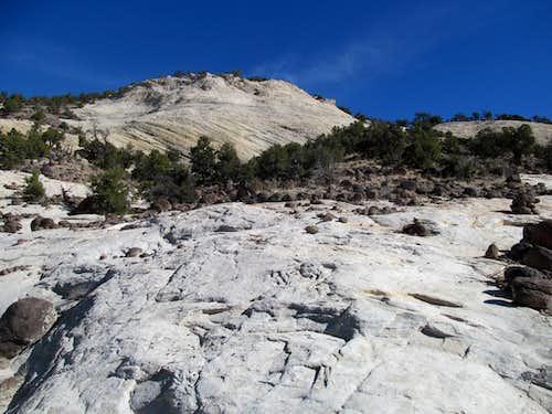 Upper Calf Creek Falls slickrock trail