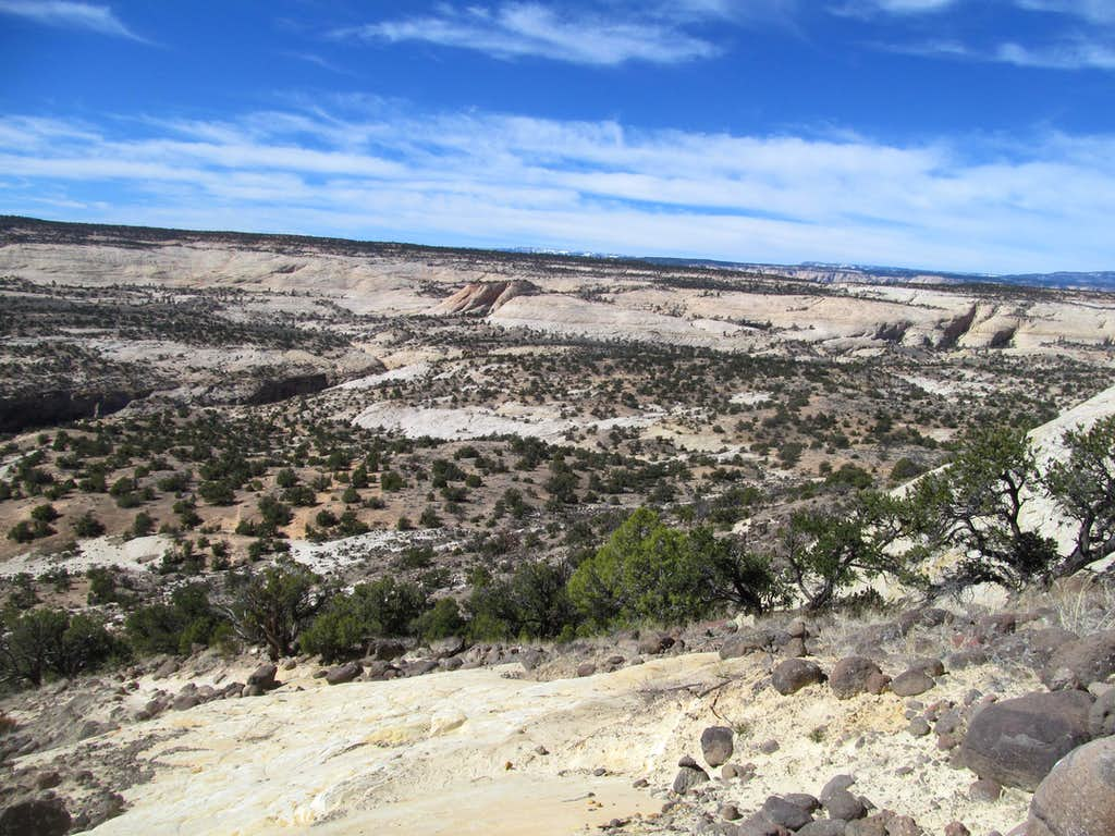near the Upper Calf Creek trailhead