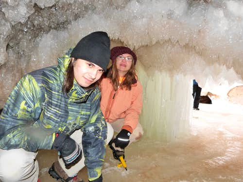 Ice Caves - Apostle Island - Lake Superior