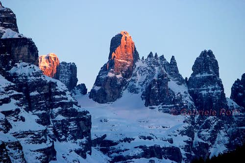 Torre di Brenta, winter view