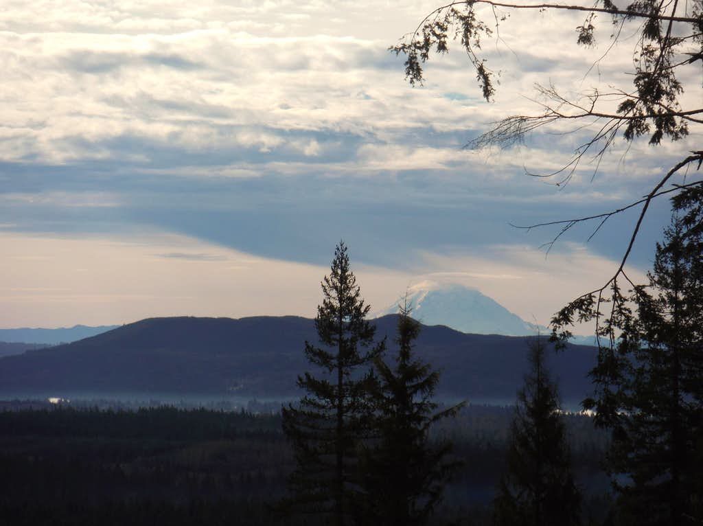 Rainier in the distance