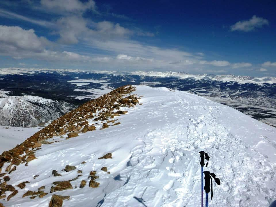 Mt Elbert Winter Ascent