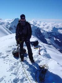 summit of Breithorn, next to...