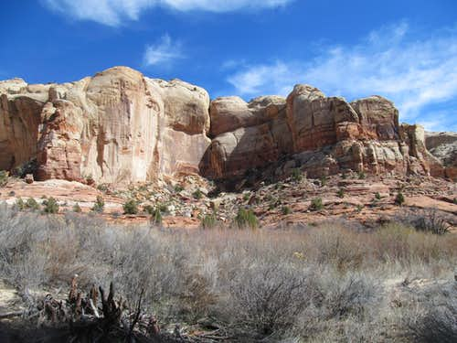 Lower Calf Creek Canyon