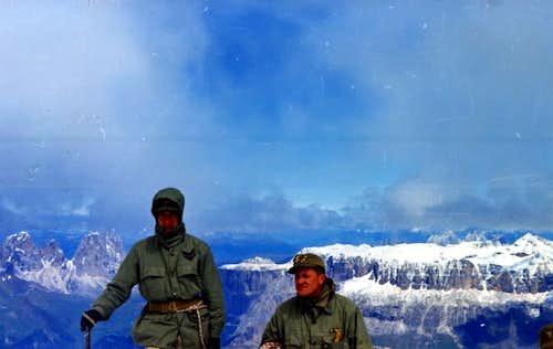 By Punta Rocca Langkofel Grohmannspitze, Fünffingerspitze & Piz Boé 1968