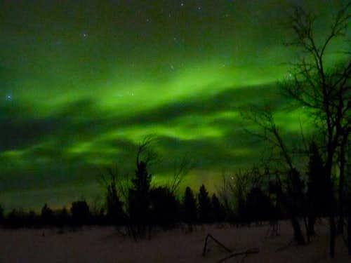 Northern Lights arctic Finland