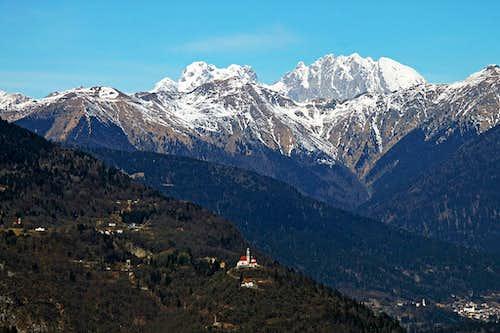 San Pietro above Zuglio