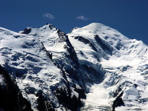 French side of Mont Blanc, Tschingel's  highest goal