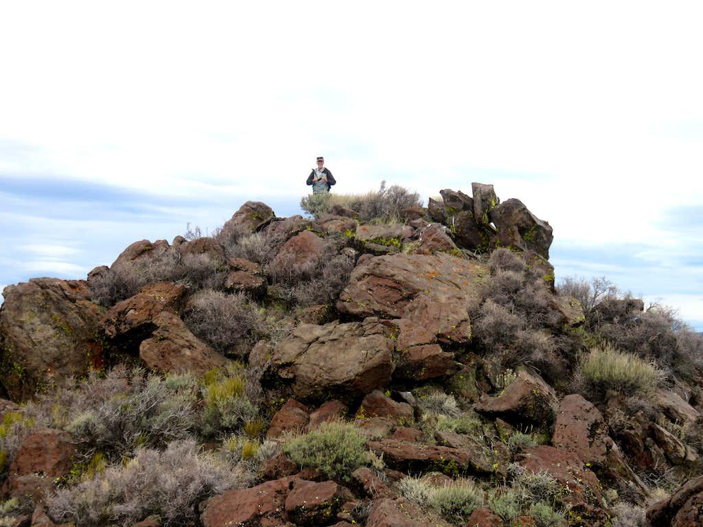 North Pond Peak rocky summit