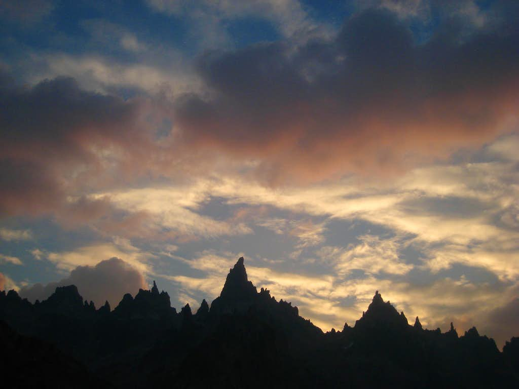 Sunset over Torre Principal