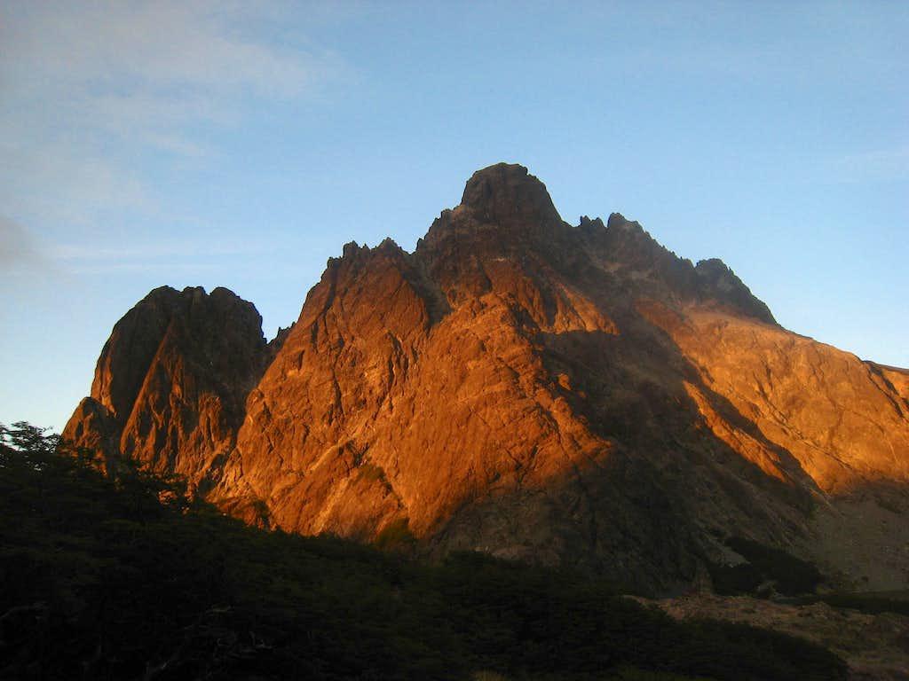 Sunset on Cerro Negro