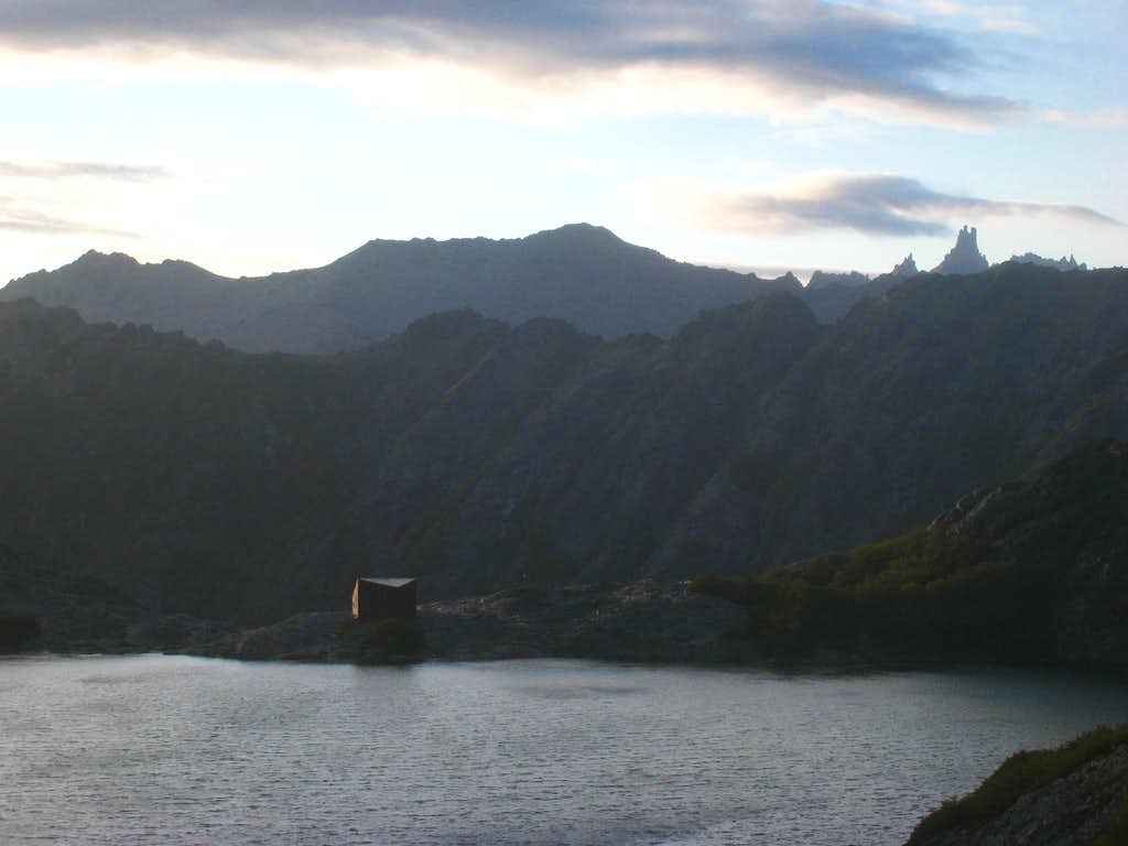 Laguna Negra at sunrise