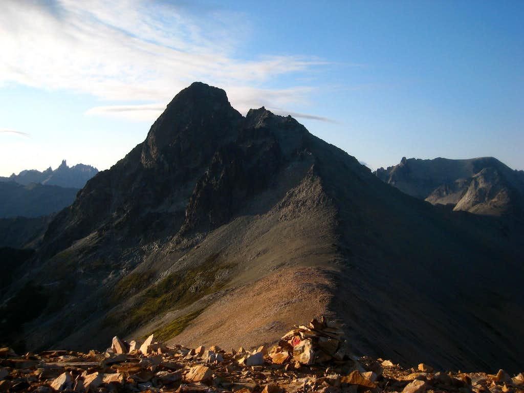 Cerro Negro from the route up Cerro Bailey Willis
