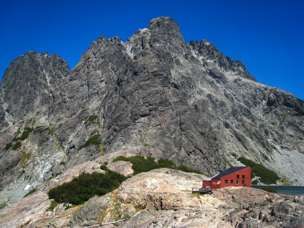 Cerro Negro and the refugio