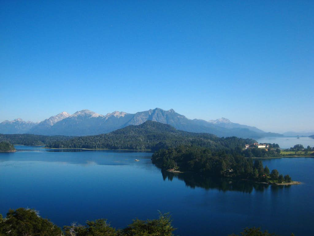 Nahuel Huapi Lake from Punta Panoramico