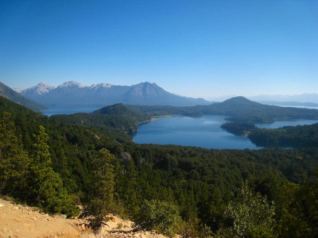 Lago Perito Moreno from the trail to Refugio Lopez