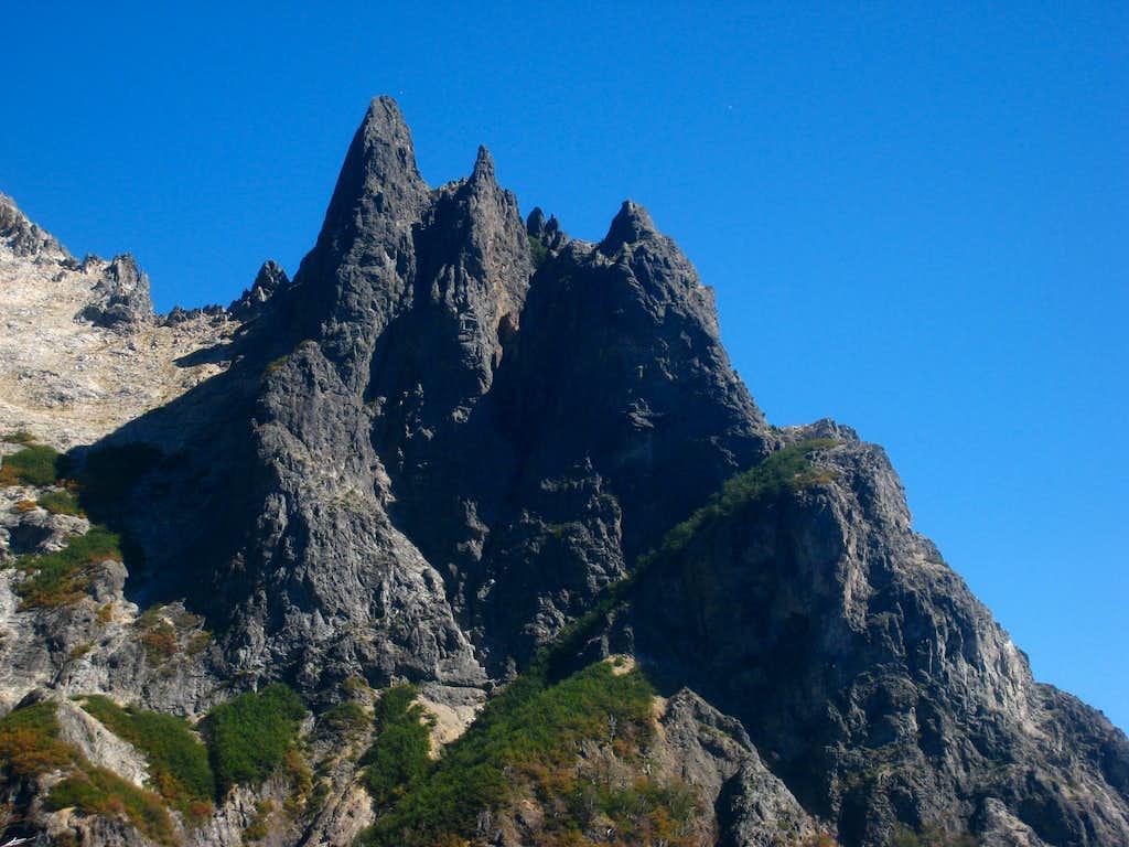 Towers on Cerro Lopez