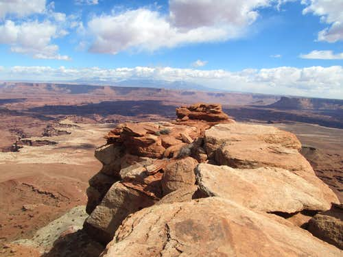 La Sals & White Rim Overlook