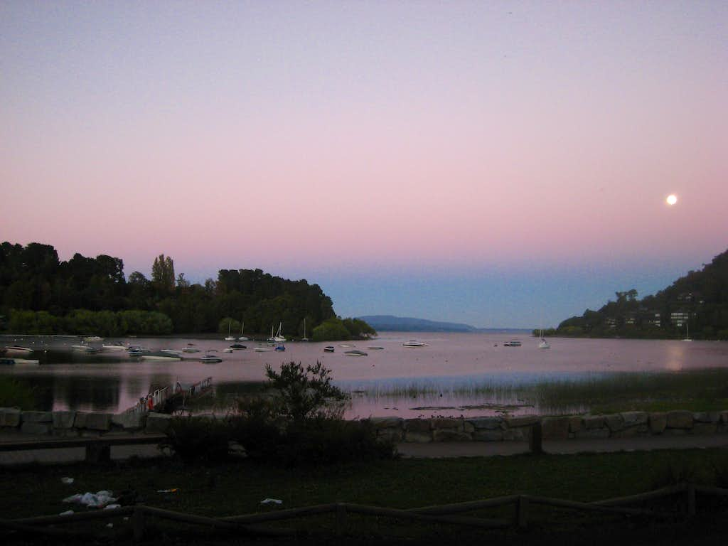Villarrica Lake from Pucon